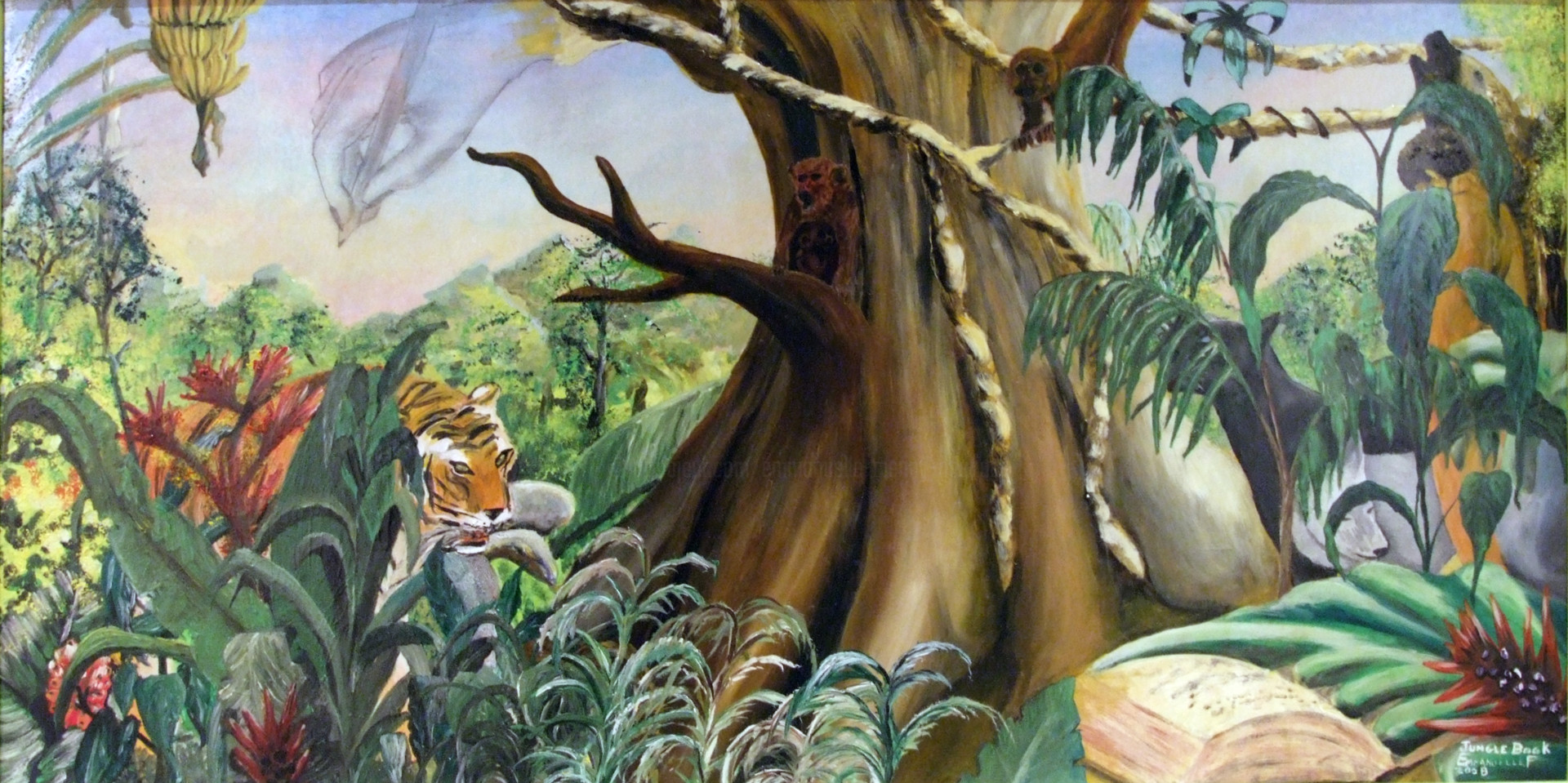 Emmanuelle Menny Fleuridas - Jungle Book