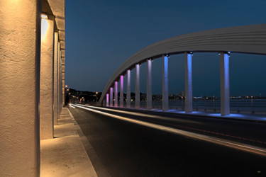 Sainte Maxime bridge