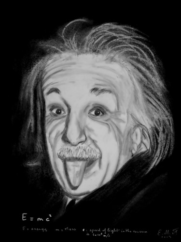 Albert Einstein #ArtistSupportPledge